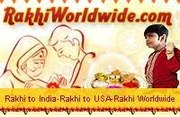 Send rakhi to all over world.