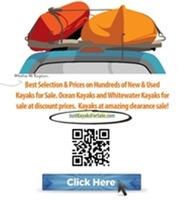 **WE'RE SELLING HUNDREDS OF NEW AND USED KAYAKS!!**